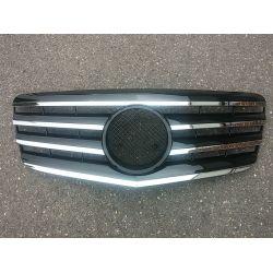 Calandre pour Mercedes Classe E W211 2007-2009 - Noire Chrome