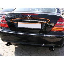 Baguette de coffre chrome pour Mercedes classe E W211 2002-2006
