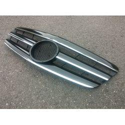 Calandre sport pour Mercedes classe S W221 - Noire Chrome