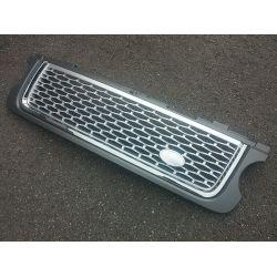 Calandre pour Range pour Rover 2011-2012 - Gris argent chrome