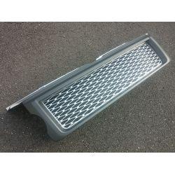 Calandre pour Range pour Rover Sport L320 gris argent