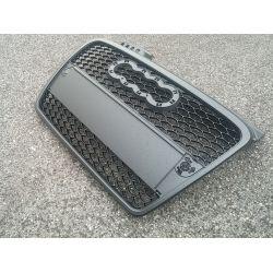 Calandre noire matte pour Audi A4 8E - RS4 Style