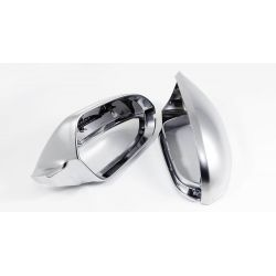 Mirror covers alu for Audi A6 C7 2012
