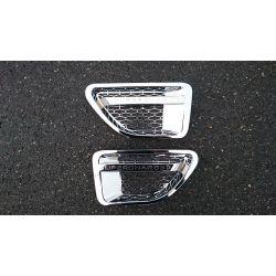 Grilles d'aile pour Range Rover Sport chrome