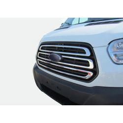 Moulure chrome alu pour calandre Ford Transit