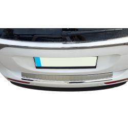 Seuil de chargement en chrome alu brossé pour Mitsubishi Outlander III