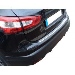 Seuil de chargement en chrome alu pour Nissan Qashqai 2014