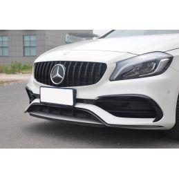 Calandre panamericana pour Mercedes classe A W176 2015-2018 NOIRE