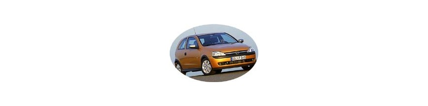 Pièces tuning, accessoires Opel Corsa C 2000-2007